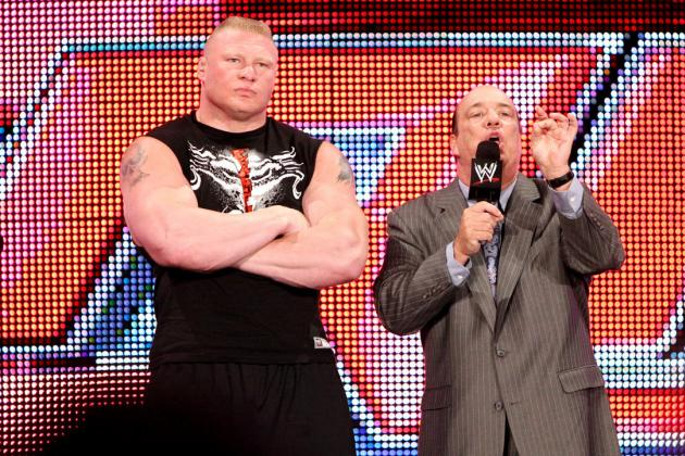 Brock Lesnar vs. Triple H at WWE Extreme Rules Was Set Up Perfectly on Raw
