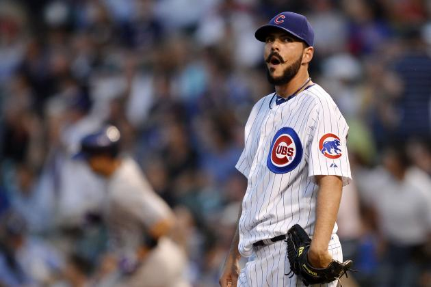 Rockies Knock Around Cubs' Pitchers