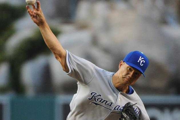 Angels Pound Royals 6-2, End Guthrie's Streak of Lossless Starts