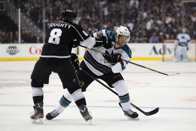 Sharks Shut out in Game 1