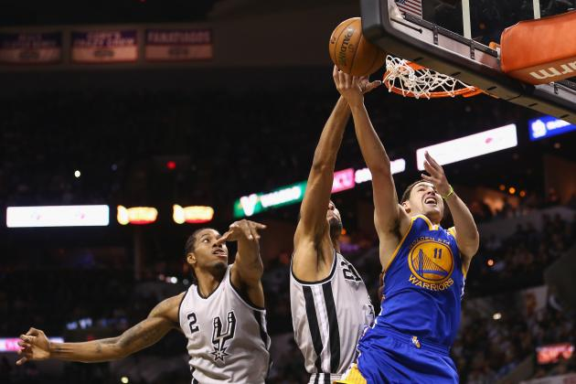 2013 NBA Playoffs: Heavy Minutes Taking a Toll on Golden State Warriors