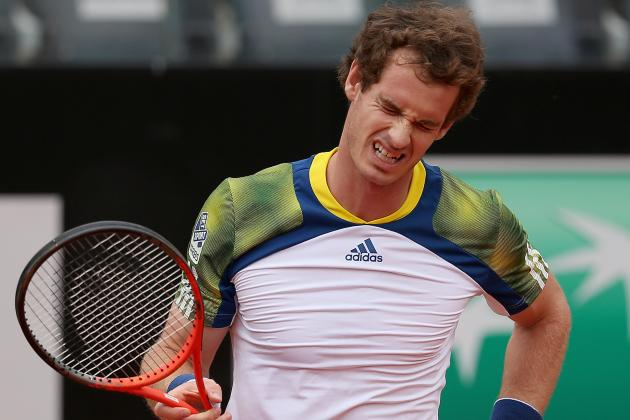 Andy Murray Retires from Italian Open During Match