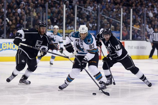 San Jose Sharks vs. Los Angeles Kings Game 1: Live Score, Updates and Analysis