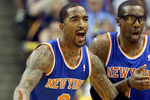 J.R. Takes Blame After Knicks Lose in Game 4