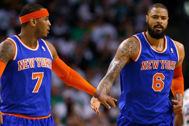 Chandler: Digs at Knicks Offense Not Directed at Anthony