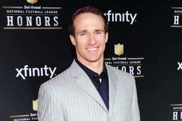 Drew Brees Was Third Highest-Paid American Athlete in 2012