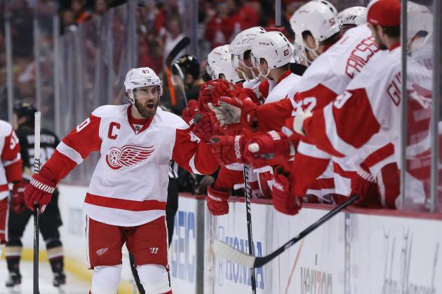 Henrik Zetterberg Leaving His Mark in First Season as Captain