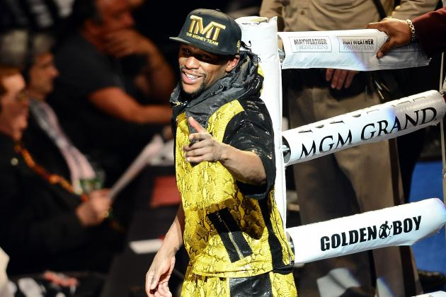 Floyd Mayweather Top-Earning American Athlete for Second-Straight Year