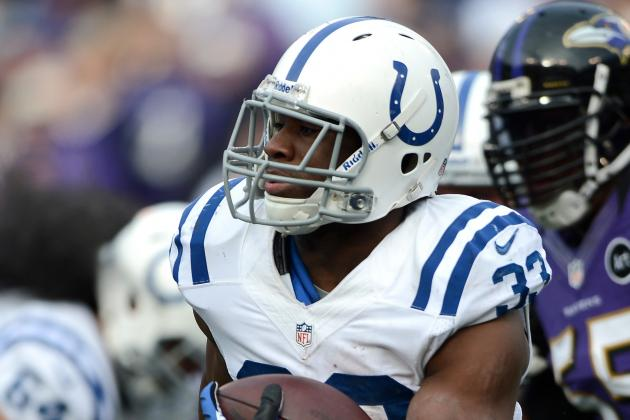 Colts Liking Ballard as Lead Running Back