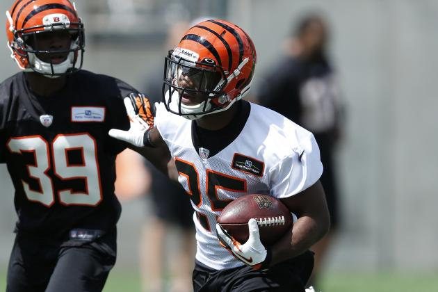 Giovani Bernard Has Complementary Role with Bengals