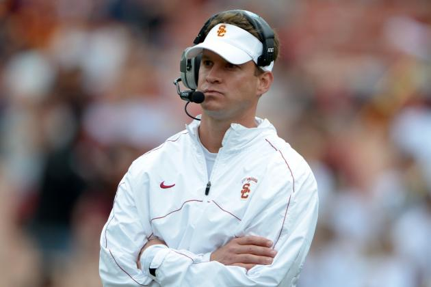 No Drama at USC This Year? That's Up to Lane Kiffin