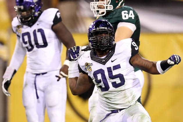 TCU Slaps All-Big 12 DE Devonte Fields with Two-Game Suspension