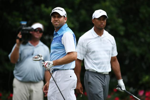 TPC Marshals Support Tiger Woods in Feud with Sergio Garcia