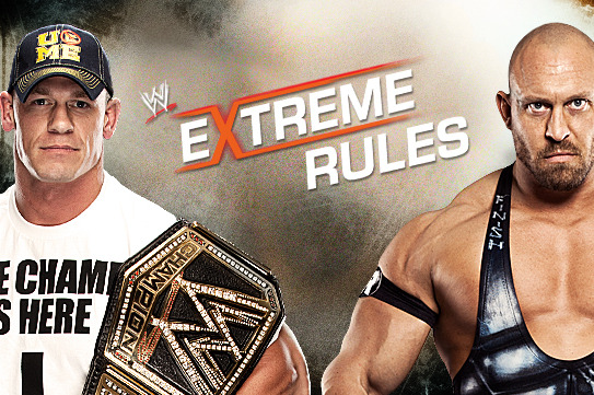 WWE Extreme Rules 2013: Ryback vs. John Cena Tale of the Tape