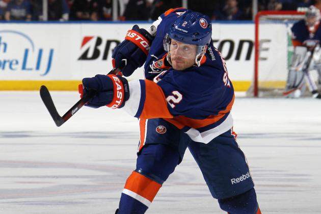 Isles Captain Streit: 'I Want to Be Back, I Love It Here'