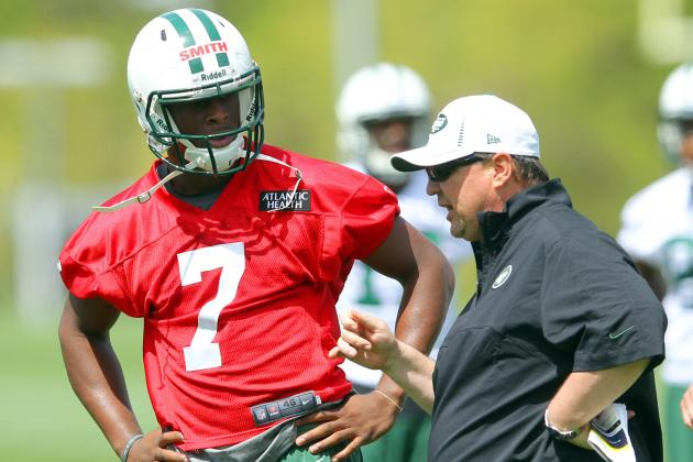 Marty Mornhinweg: 'This Will Be a Bona Fide Quarterback Competition, Period'