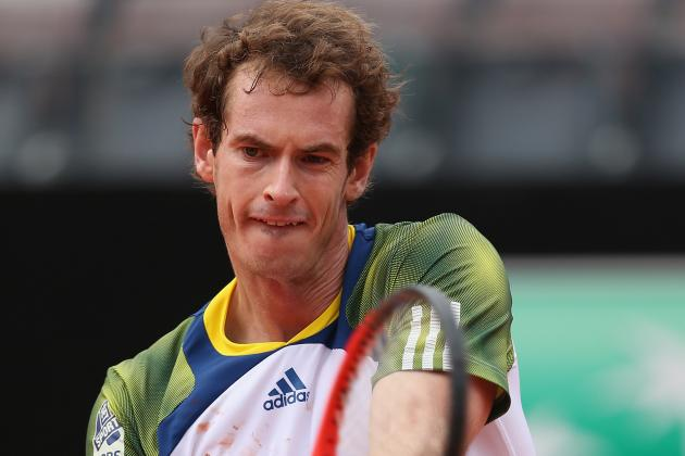 Murray Retires from Match Against Granollers