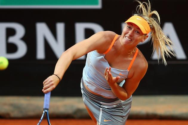 Sharapova Rolls in Rome Opener