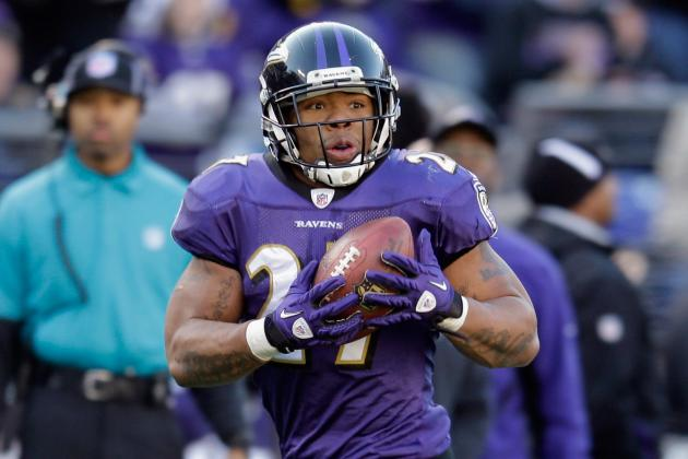 Ray Rice May Once Again Be the Receiving Savior of the Ravens Passing Game