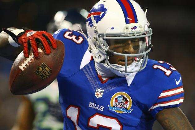 Stevie Johnson Eager to Start Building Chemistry with His QBs