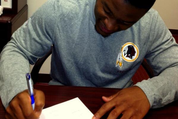 Redskins Sign Injury Plagued Pick Thompson