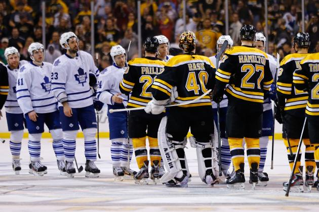 Bruins Praise Leafs' Effort After Win