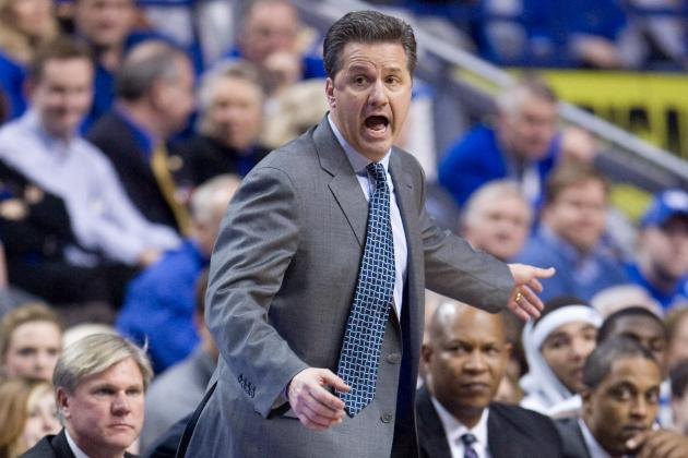Calipari Says Upcoming Kentucky Basketball Team Will 'Chase Perfection'