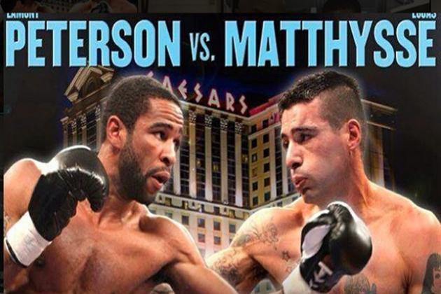 Lamont Peterson vs. Lucas Matthysse: Date, Time, TV and Live Stream Replay Info