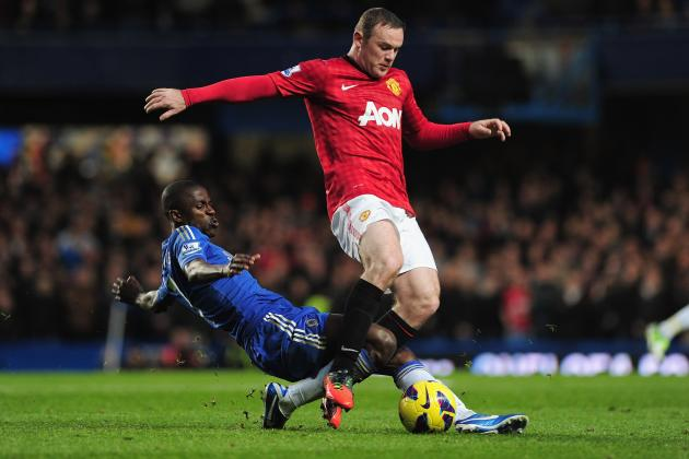 Chelsea Transfer Rumours: Latest on Wayne Rooney, Edinson Cavani and More
