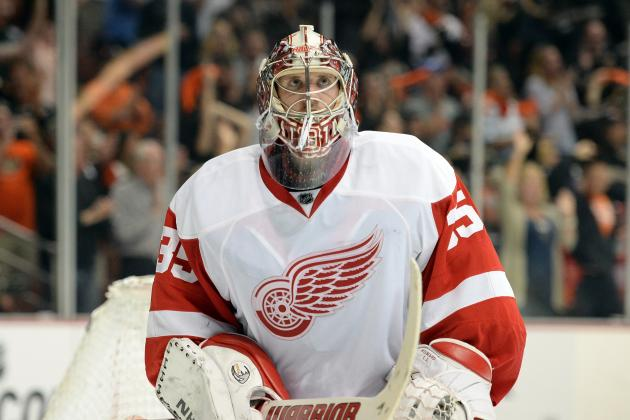 Red Wings Revel in Underdog Role Against Favored Blackhawks