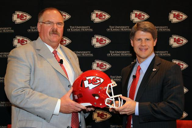 Andy Reid Talks QBs, WRs and Accountability