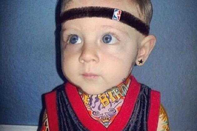 Chris 'Birdman' Andersen Is Far More Adorable as a Dressed-Up Baby