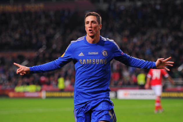 Fernando Torres' Breakaway Goal Puts Chelsea Ahead in Europa League Final (GIF)