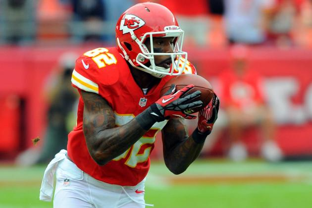 Dwayne Bowe Said He Will Lead NFL in Catches and TDs, Charles in Rushing Yards