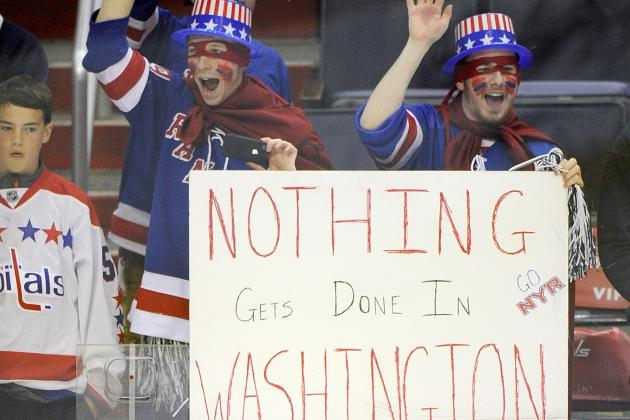 Capitals' Loss to Rangers Leaves Fans with Same Old Playoff Heartache
