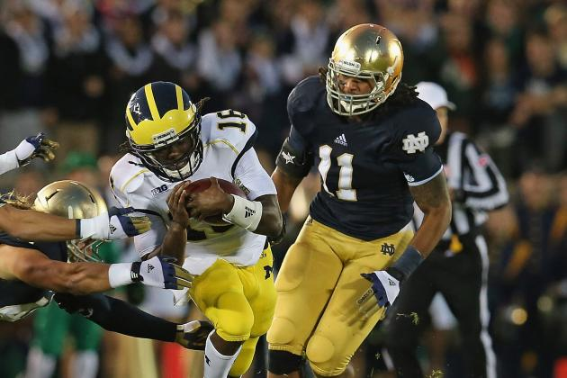 ND Responds to Brady Hoke's 'Chickening Out' Comment, Says 'Math Is Simple'
