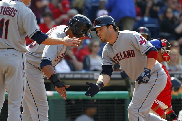 Kipnis, Swisher, Aviles Hit HRs, Indians Beat Phillies 10-4