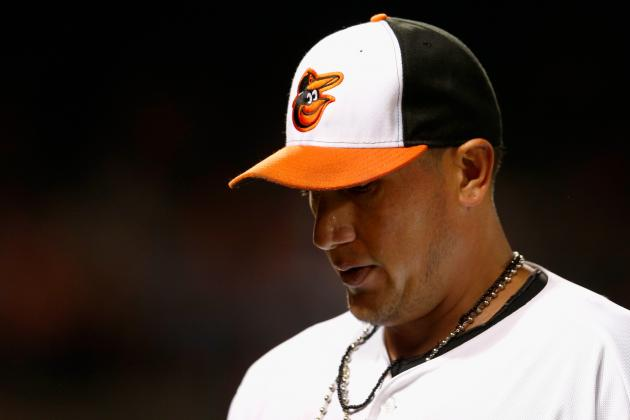 Freddy Garcia Gets Hit Hard by Padres Club That Cut Him This Spring