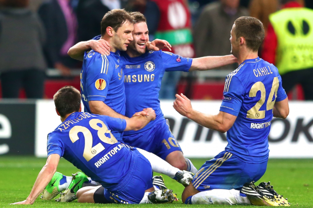 Ivanovic Heads Late Winner as Chelsea Edge Benfica to Take Europa League