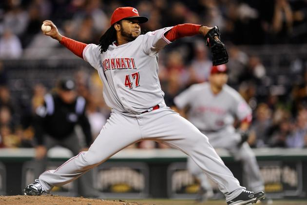 Reds' Cueto on Target to Join Rotation Next Week