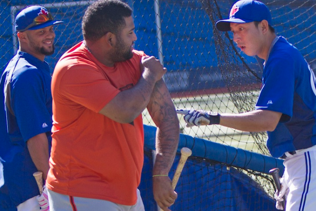 Munenori Kawasaki's Mind Is Just Totally Blown by Pablo Sandoval's Tats