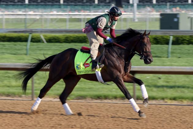 Assessing Itsmyluckyday's Preakness Chances Following Post Positions Draw