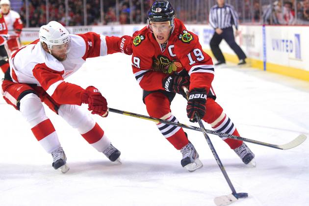 Detroit Red Wings vs. Chicago Blackhawks Game 1: Live Score, Updates, Analysis