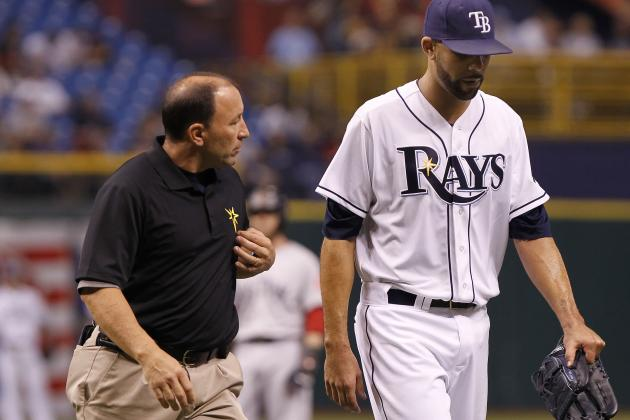 Rays Announce Price Left with Triceps Tightness