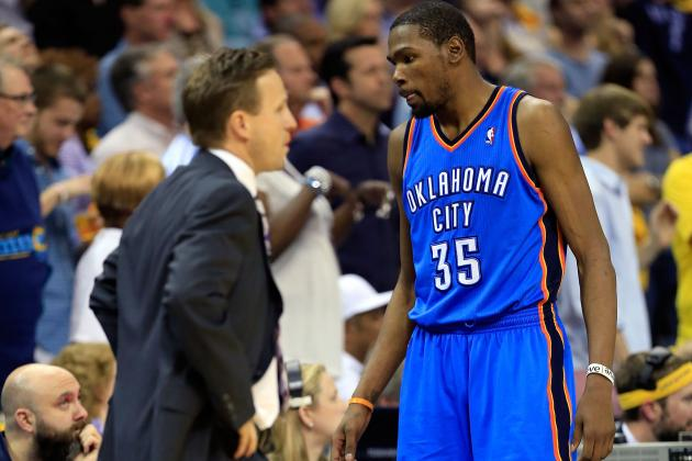 Kevin Durant, Thunder at Risk of Elimination