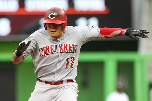 Reds Too Much for Punchless Marlins