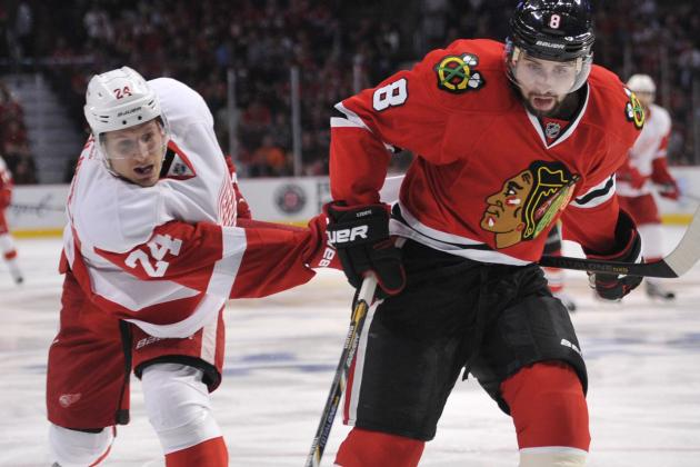 Blackhawks 4, Red Wings 1