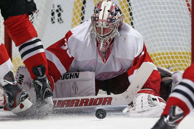 Jimmy Howard Will Give Detroit a Chance, but He's Not Enough