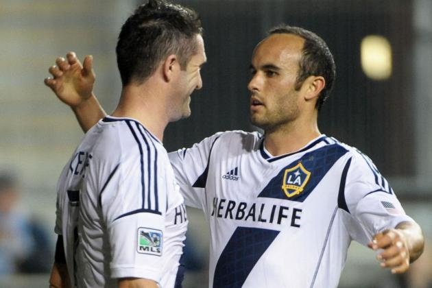 Galaxy Score 3 Second Half Goals, Beat Union 4-1
