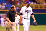 David Price Leaves Game Early with Triceps Tightness